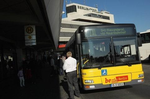 Bus urbano en Berlín