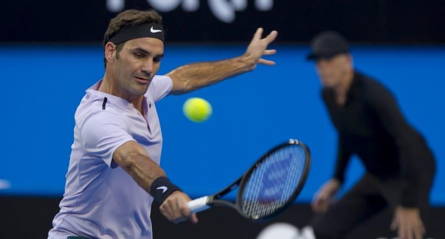 Roger Federer, tenista.