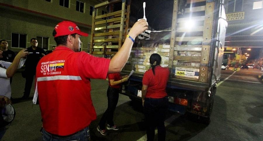 Camión en Venezuela