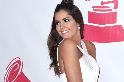 Paulina Vega, ex Miss Universo y presentadora.