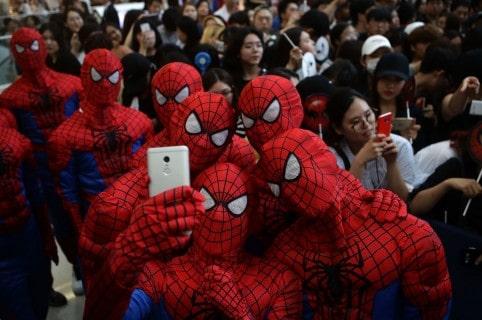 Premier de Spiderman en Corea del Sur