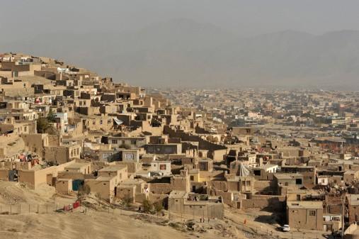 Panorámica de Kabul