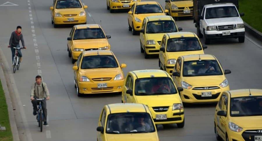 Atraco a taxistas