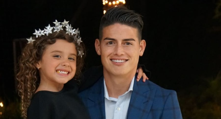 Salomé y James Rodríguez