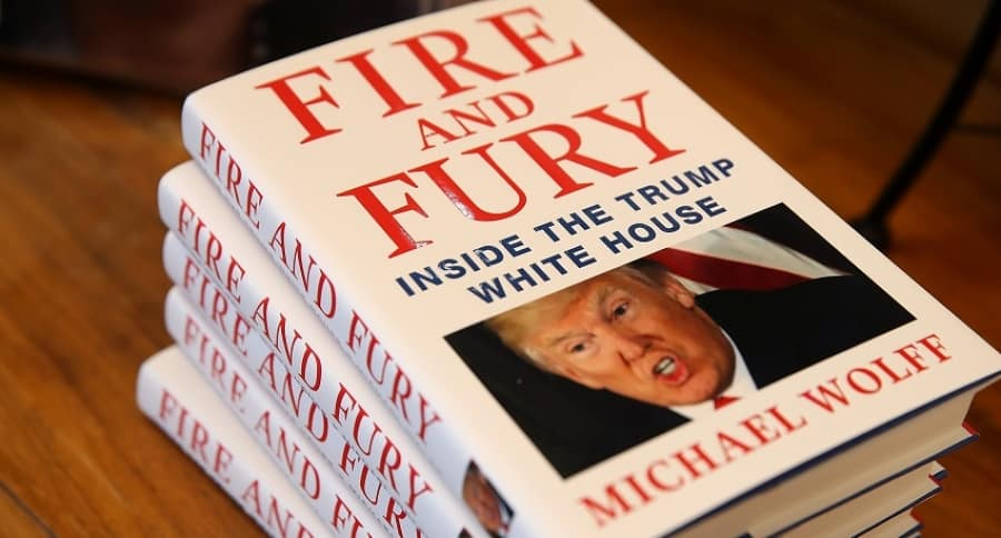 'Fire and Fury' el libro sobre Trump