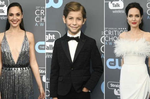 Gal Gadot, Jacob Tremblay y Angelina Jolie