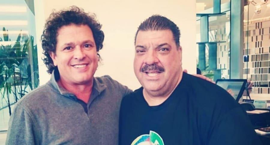 Maelo Ruiz y Carlos Vives