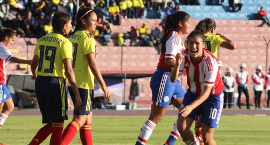 Colombia 1-6 Paraguay