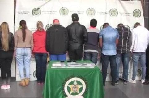 Deportistas detenidos en El Dorado