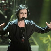 Dolores O'Riordan, cantante fallecida de The Cranberries.