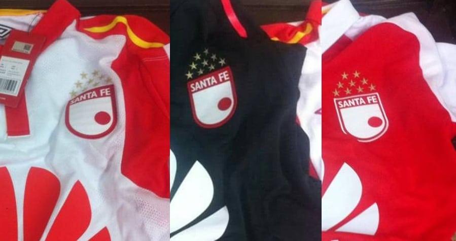 Camisetas de Santa Fe