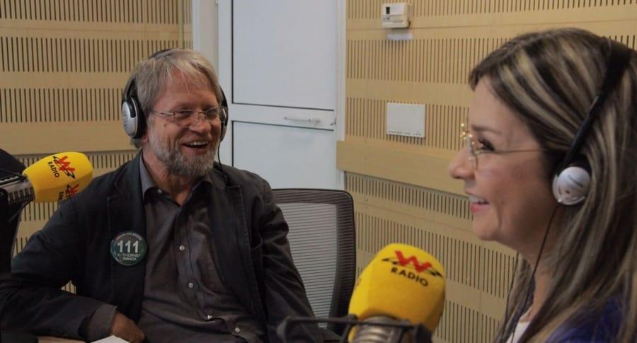 Antanas Mockus y Vicky