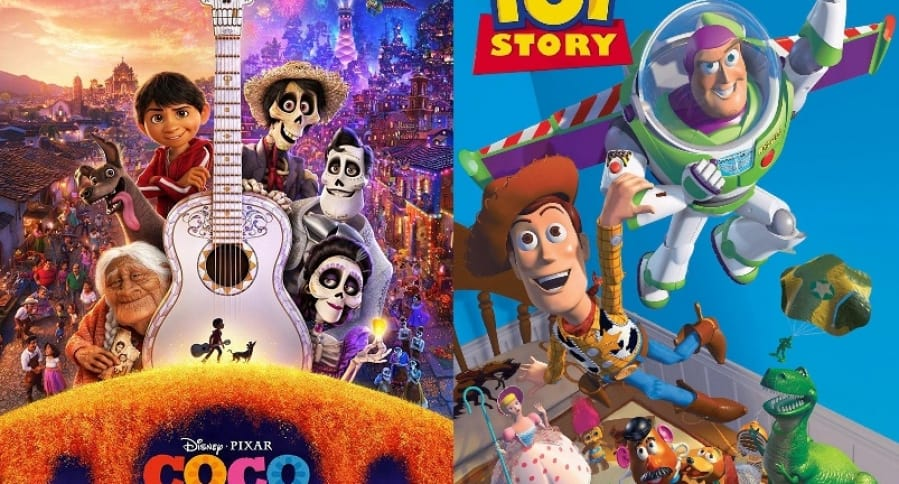 Coco y Toy Story