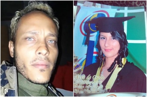 Óscar Pérez y Lisbeth Ramírez