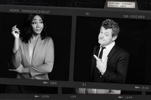 Tiffany Haddish y Andy Serkis