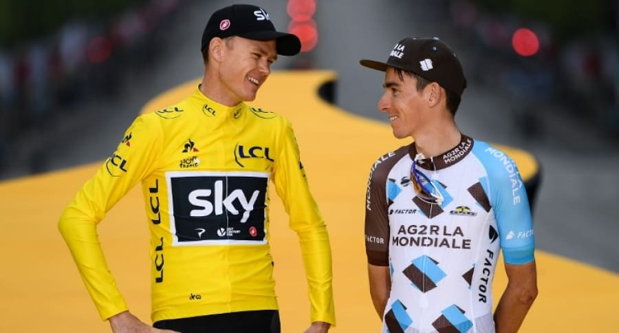 Froome y Bardet