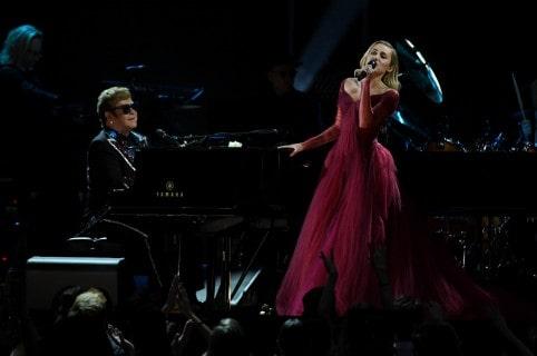 Miley Cyrus y Elton John