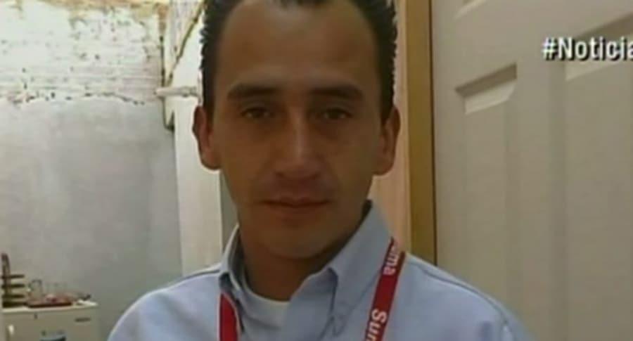 Kevin Forero, conductor de bus del SITP.