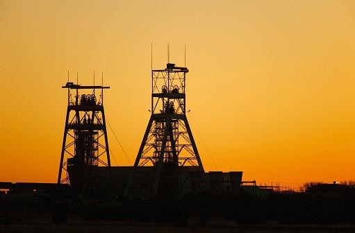 Mina de oro en Sudáfrica
