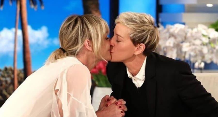 Ellen DeGeneres y su esposa