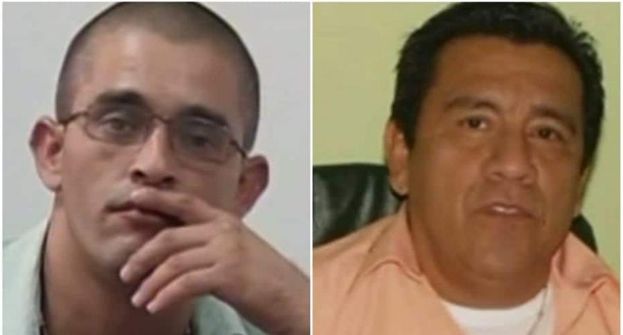 Yean Arlex Buenaventura, sicario. / Luis Antonio Peralta, periodista asesinado.