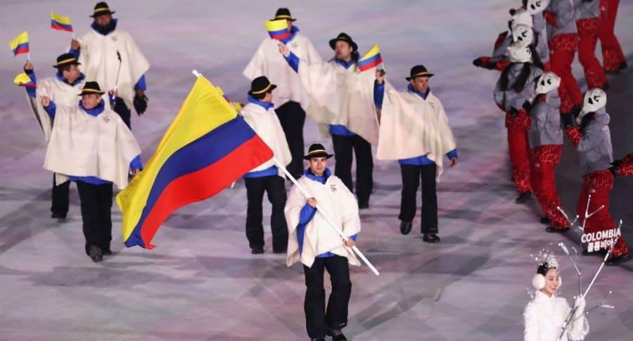 Delegación Colombia Juegos Olímpicos de Invierno en Pyeongchang