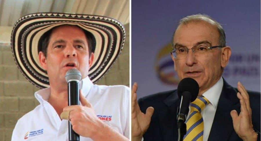 Germán Vargas Lleras y Humberto de la Calle