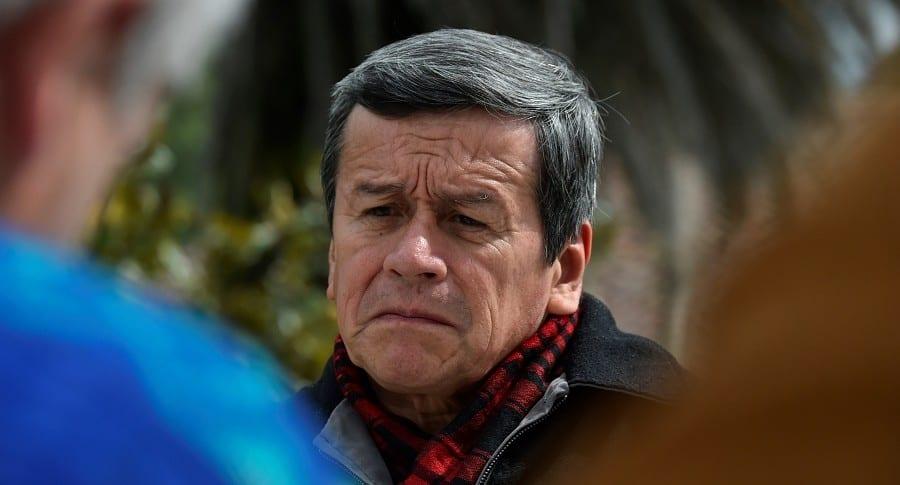 Pablo Beltrán, vocero del Eln en Quito, Ecuador