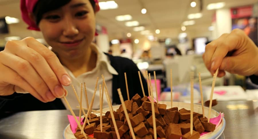 Chocolate japonés