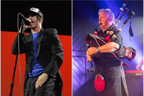Red Hot Chili Peppers / red Hot Chilli Pipers.