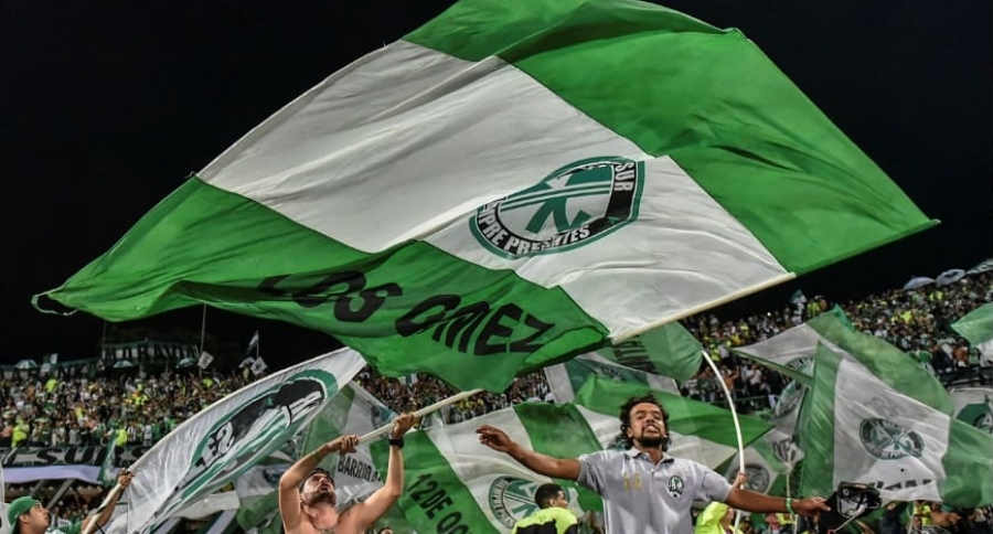 Barra Atlético Nacional