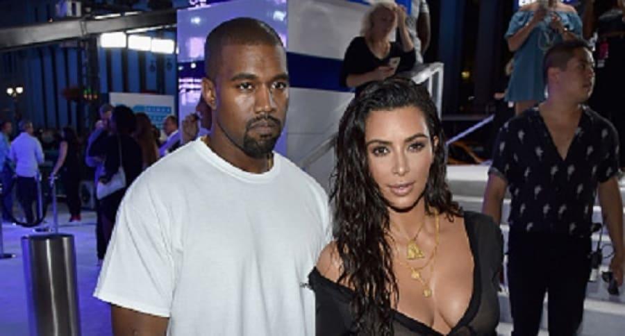 Kim Kardashian y Kayne West
