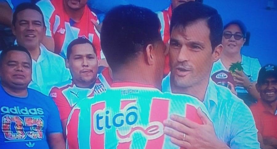 Teófilo Gutiérrez y Sebastián Saja