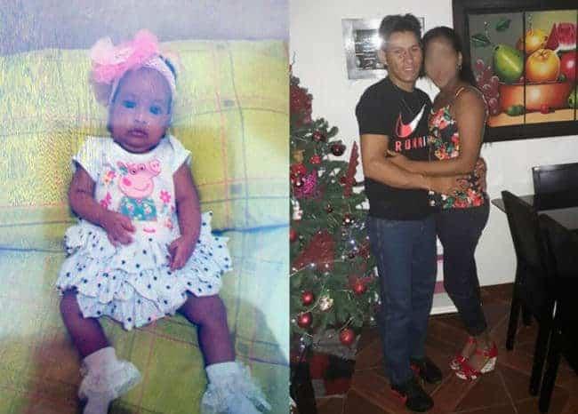 Bebé desaparecida, Alexánder Ospino Castro y la mamá de la niña