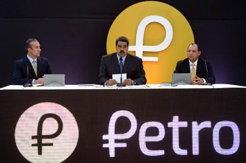 Criptomoneda Petro - Nicolás Maduro