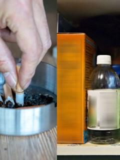 Productos de aseo y cigarrillos