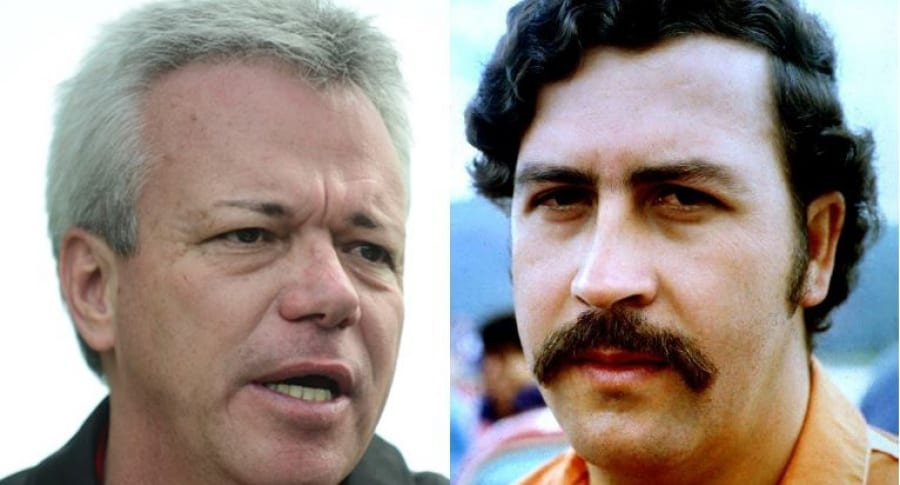 Jhon Jairo Velásquez y Pablo Escobar Gaviria