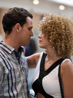 Roberto Urbina y María Elisa Camargo, actores.