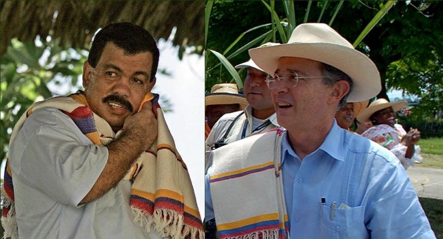 Don Berna y Uribe