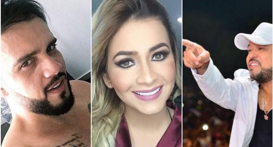 'El Nene', Anny Sarmiento y Yader Romero