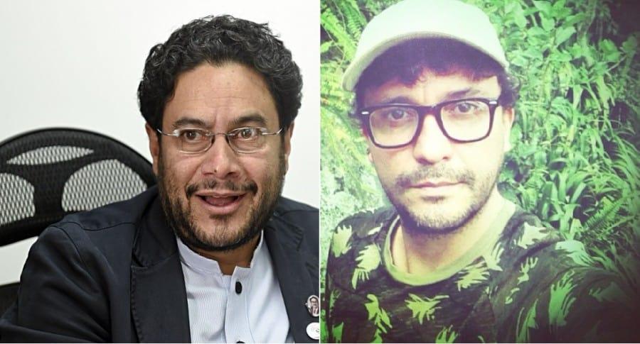 Iván Cepeda, senador, y Andrés Cepeda, cantante.