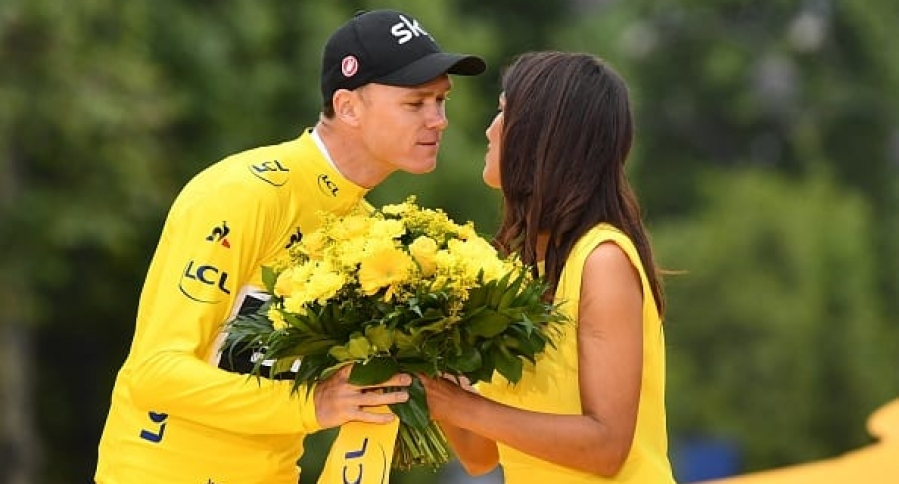 Christopher Froome wins his fourth Tour de France