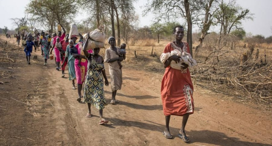 Desplazados Sudán del Sur
