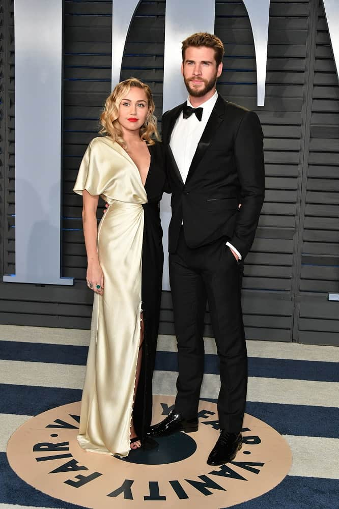 Miley Cyrus y Liam Hermsworth