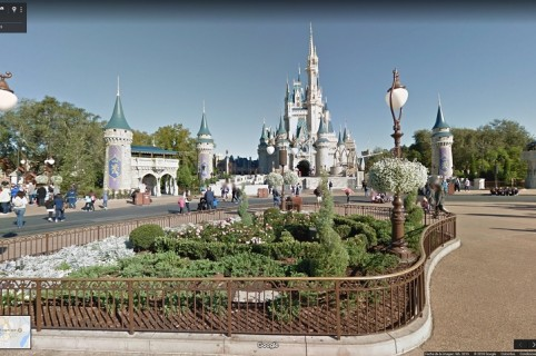 DIsney Google Maps