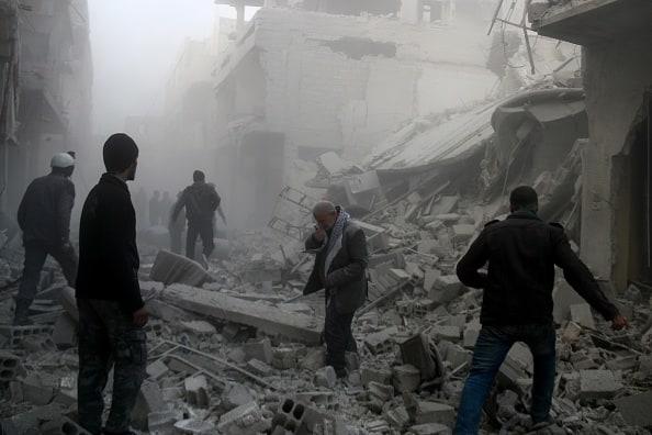 Bombardeos en Guta