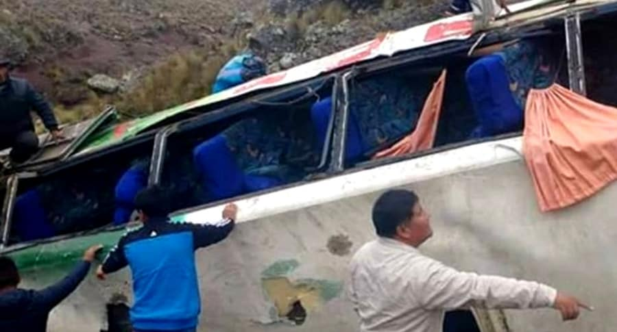 Bus accidentado