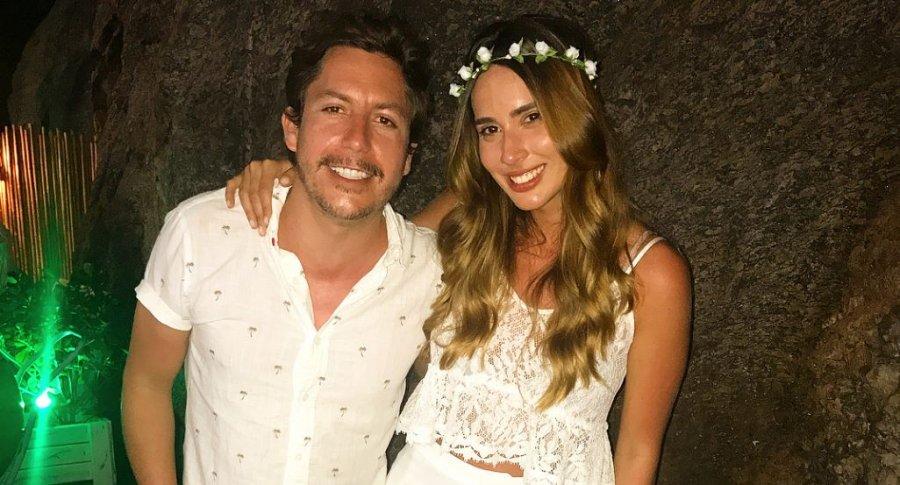 Alejandro Riaño y María Manotas