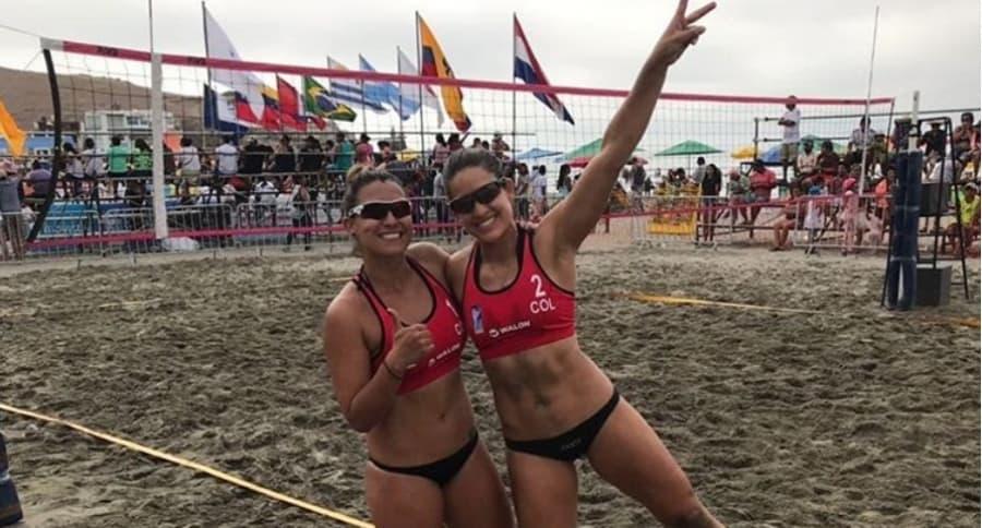 Tatiana Ayala y Diana Ríos