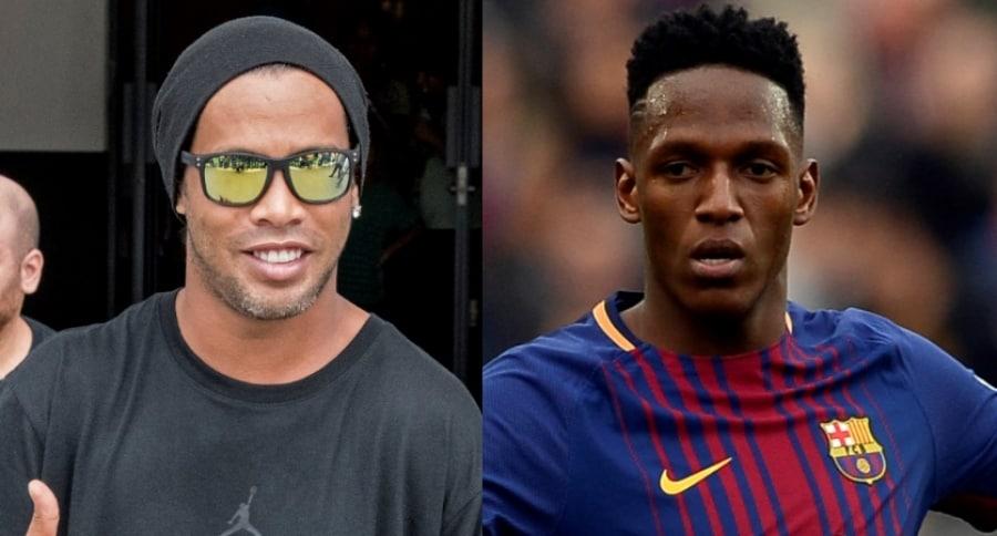 Ronaldinho / Yerry Mina